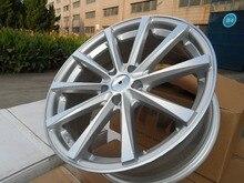 Высокое качество! 19 х 8.5 и 35 5×114.3 OEM Серебро Машина Лицо легкосплавные колесные диски W101