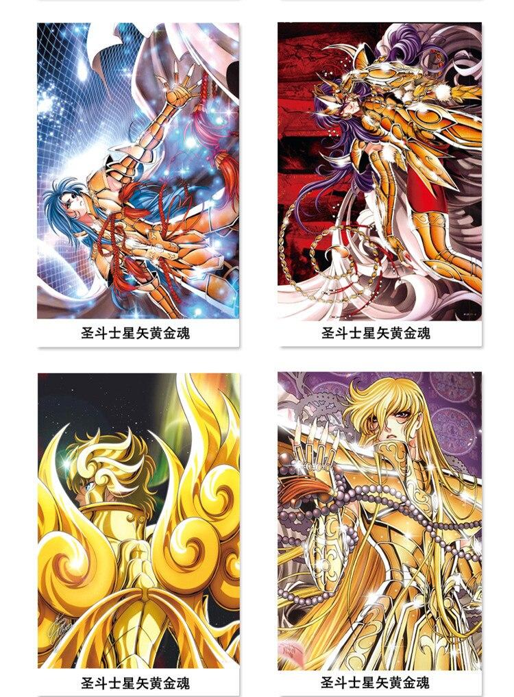 Poster Saint Seiya Japan Anime Boy Room Wall Cloth Poster Print 29