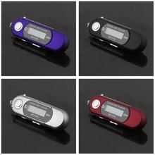 Popular Cute MP3 Players USB 2.0 Flash Drive Memory Stick LCD Mini Sports MP3 Music Player with FM Radio Car Gift