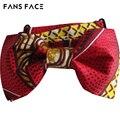 Бесплатная доставка! 2016 дизайн! Горячая! Высокое качество красочный Мужчин галстук-бабочку. Африканский Джентльмен Свадьба бантом. воск печати, аксессуары.