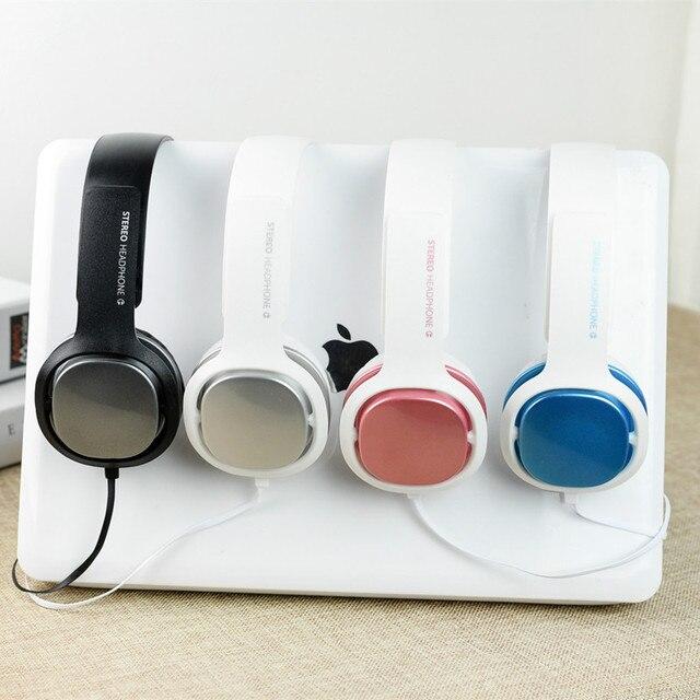 Bonbons Stéréo écouteurs Téléphone Mobile Casque Bandeau Casque Pour