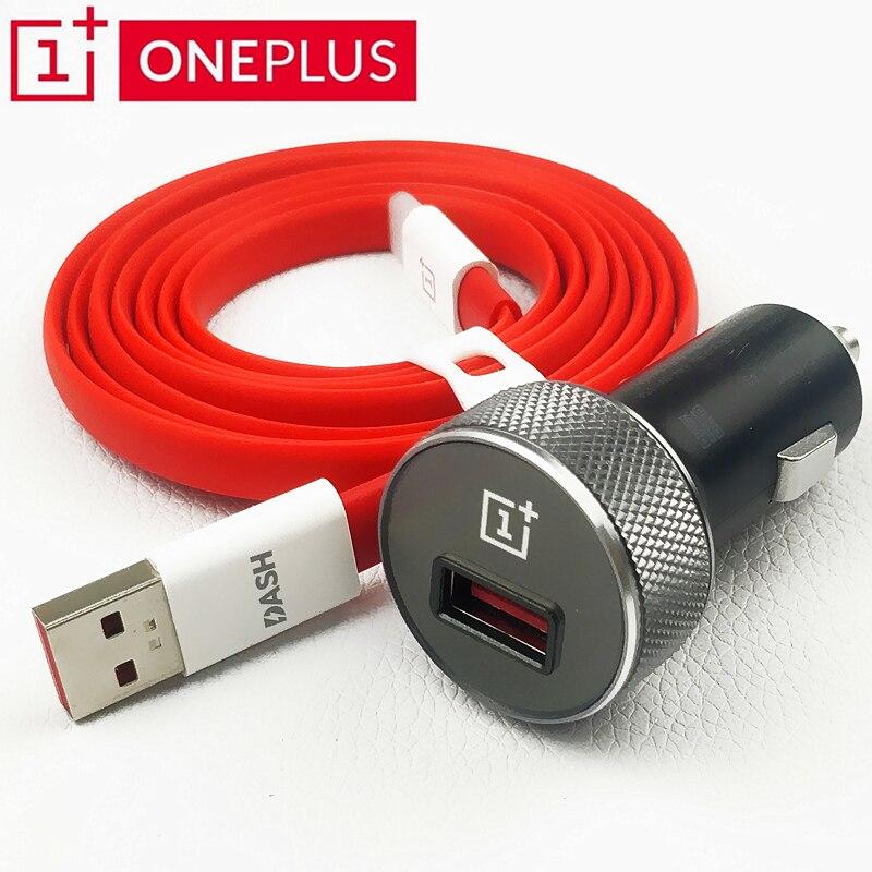 Original Oneplus Dash Auto Ladegerät 6 6 t 5 t 5 3 t 3 ein plus smartphone QC 3,0 schnell ladung Schnell Lade usb 3.1 Typ C Kabel