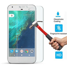 New 9H Hardness 0.26mm Genuine Premium Ultra Clear Tempered Glass Screen Protector Guard Film For Google Pixel / Pixel XL