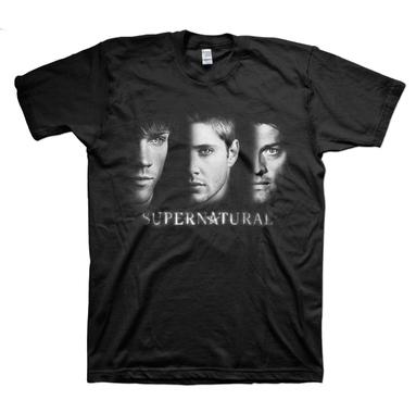 Série de TV Supernatural Irmão Winchester Castiel Camiseta T-shirt Dos Homens de Verão Estilo Casual T-Shirt de Algodão de Manga Curta Camisas