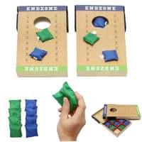 11pcs/set Funny Bag Toss game Bean bag toss set Foldable Cornhole Board party game kids Entertainment home garden family game
