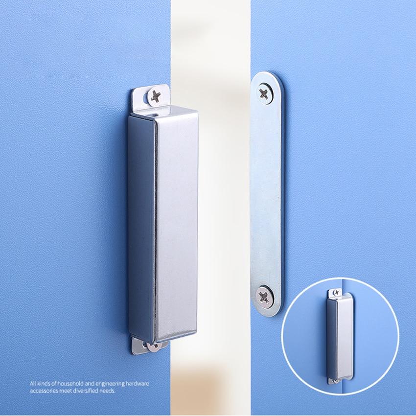 20Pack Mousike Cabinet Magnets Magnetic Door Catch Stainless Steel Door Magnet for Kitchen Bathroom Cupboard Wardrobe Closet Closures Cabinet Door Drawer Latch 20 lbs