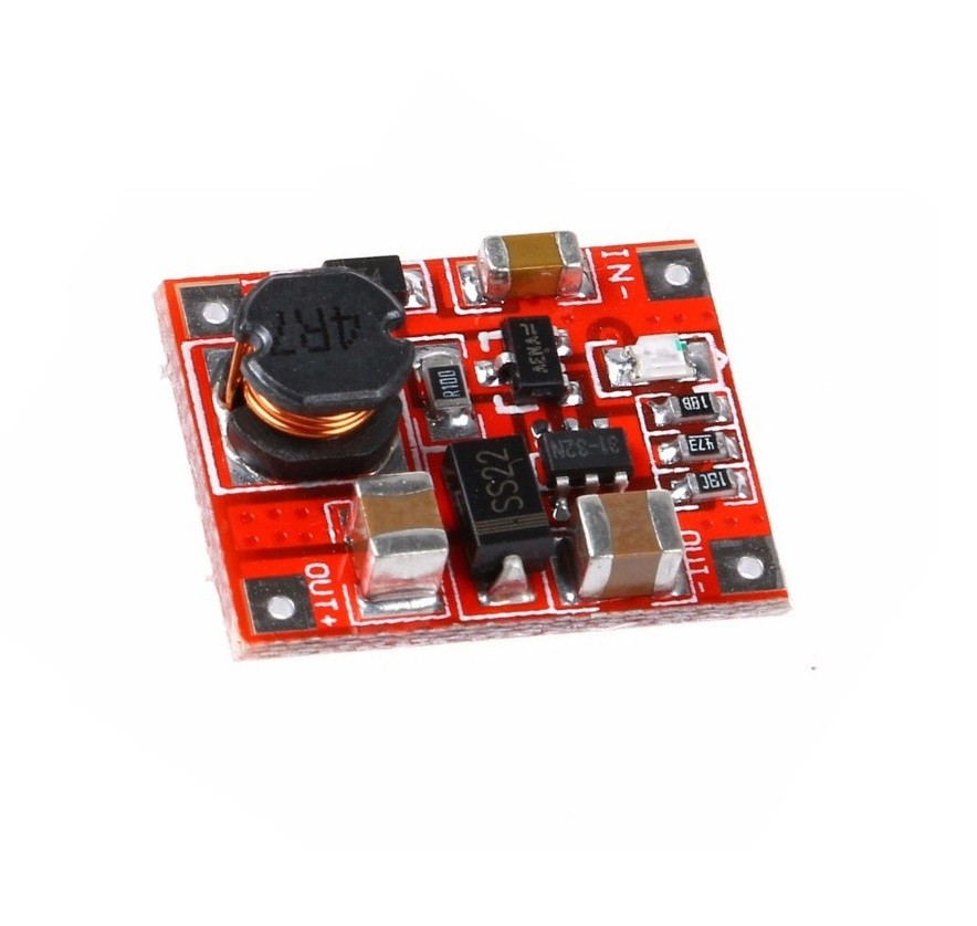 DC-DC Boost Power Supply Module Converter Booster Step Up Circuit Board 3V to 5V 1A Highest Efficiency 96% Ultra Small