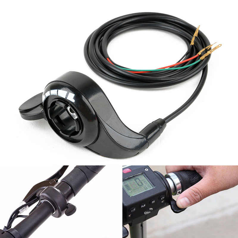 "E-bike Upgrade Thumb Gas Regulator Electric Bike Component Throttle for Electric Bicycle 7 / 8 "" Or 22mm Diameter Handlebar"