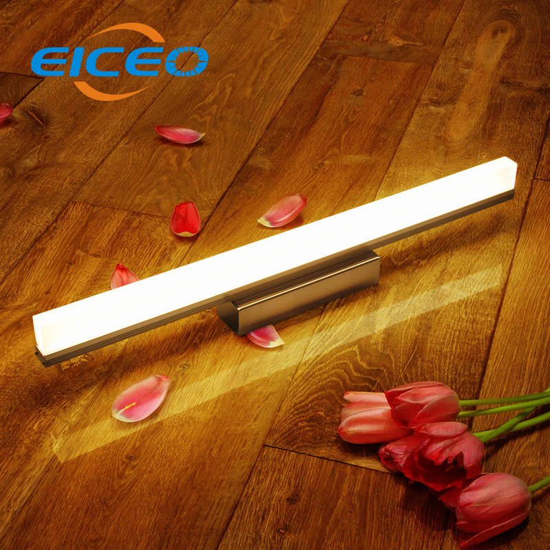 (EICEO) LED Mirror Headlight Waterproof Anti fog Bathroom Mirror Lam LED Wall Lamp Lighting Simple Modern Mirror Lamps Light 40cm 12w acryl aluminum led wall lamp mirror light for bathroom aisle living room waterproof anti fog mirror lamps 2131