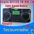 Деген DE1128 FM MW SW полная - SD карта книг для чтения радио новый продукт бесплатная доставка