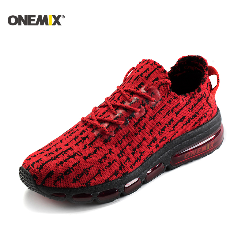 ONEMIX Autumn Women Shoes Breathable Mesh Sneakers Wearable Antislip Sweat Soft Running Shoes Sneakers Lover Running Size3.5-9.5
