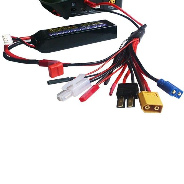 Free shipping 4.0mm banana connector to Female Tamiya Futaba TRX EC3 JST XT60 Multifunctional Lipo charger RC charger adaptor