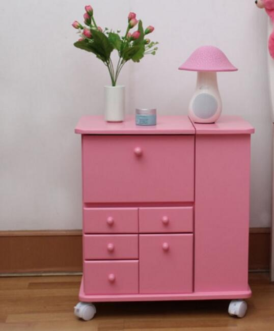 Organizador Furniture Cosmetic Storage Box Cabinet Dressing Table ...