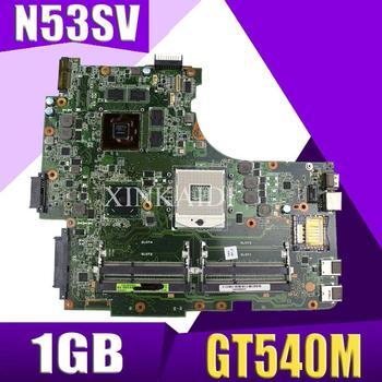 XinKaidi  N53SV Laptop motherboard for ASUS N53SV N53SN N53SM N53S N53 Test original mainboard GT540M-1GB