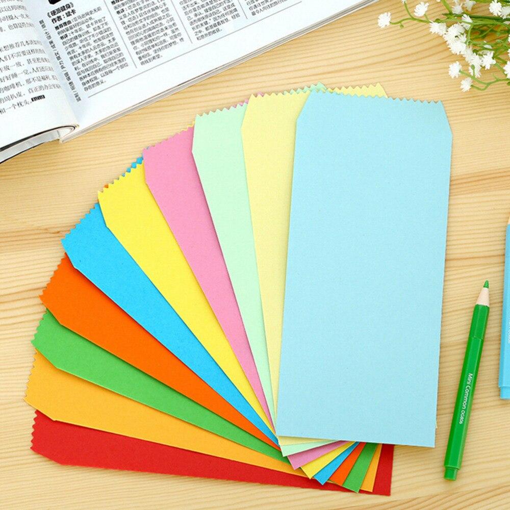 5pcs New Colored Vintage Blank Stationery envelopes DIY ...