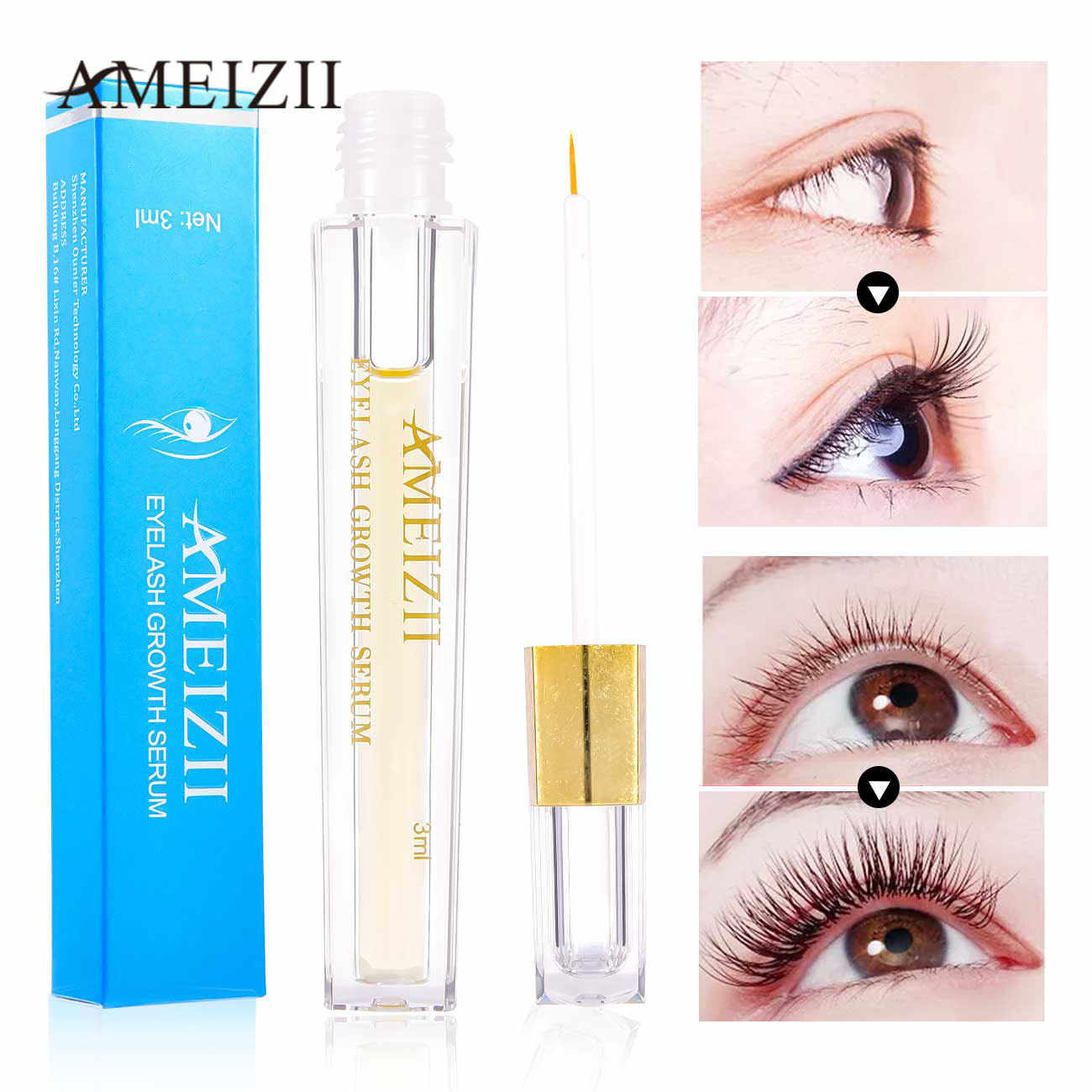 AMEIZII Eyelash Growth Eye Serum For Eye Lash Lift Longer