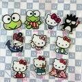 Harajuku Estilo de Dibujos Animados Serie de Acrílico Broche de Gatito Lindo de la Rana de Ojos Populares Hello Kitty Insignia de Dibujos Animados Creativo Broches Broche