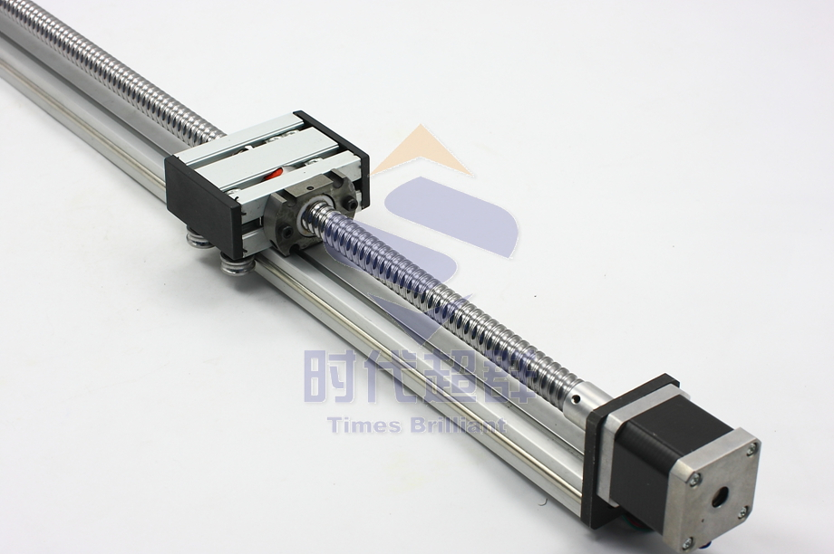 42 Ball Screw Linear Guide Slipway Long 900mm With Stepper