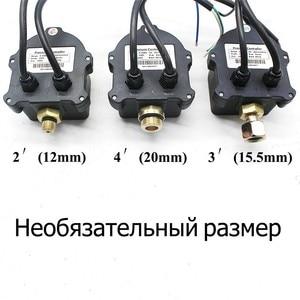 """Image 4 - ロシアデジタル Led 表示ウォーターポンプ圧力制御スイッチ G1/4 """"G3/8"""" G1/2 """"WPC 10 、 eletronic コントローラセンサーとアダプタ"""
