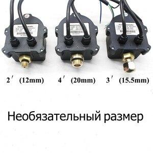 """Image 4 - Russo Digital Display A LED di Controllo della Pressione Pompa Acqua Interruttore G1/4 """"G3/8"""" G1/2 """"WPC 10, elettronico di Controllo Del Sensore Con Adattatore"""