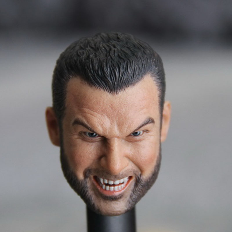 Mnotht 1/6 MaleSolider Head Model X men Mutant Roaring Edition Head Sculpt For HOT TOY PL BODY l30 uncanny x men volume 5 the omega mutant