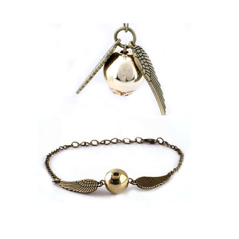 Fashion Jewelry Summer Style Angel Wings Bracelets & Bangles Necklace Jewelry Sets(China)