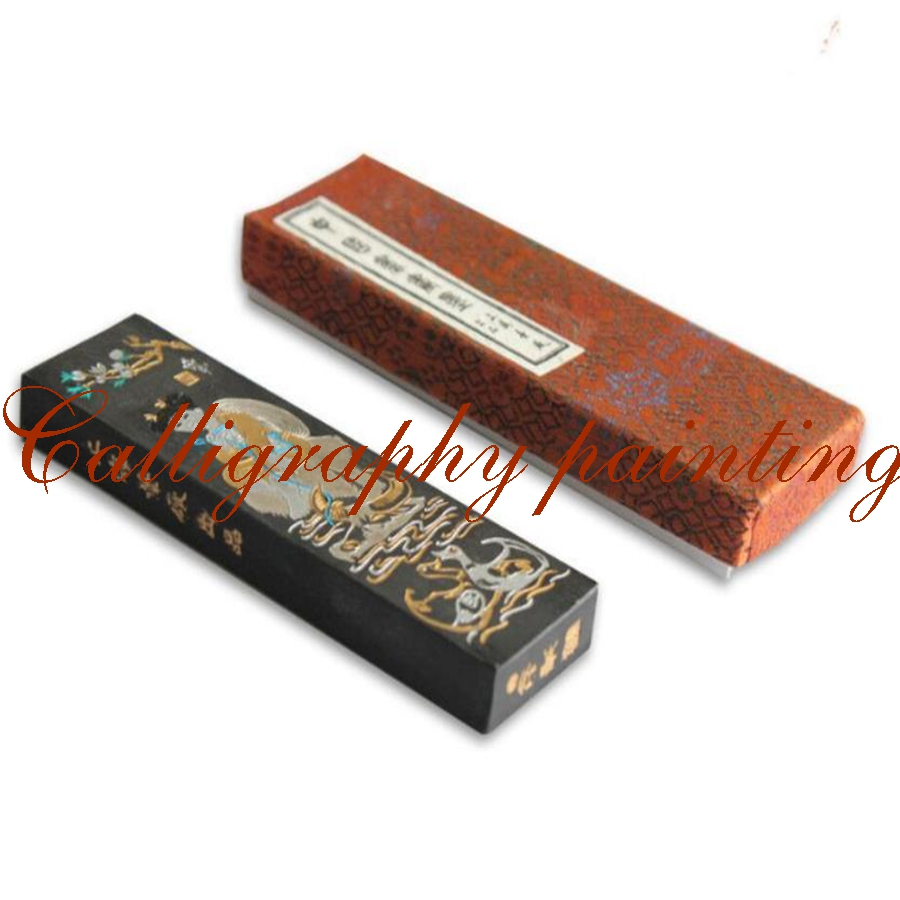 62g Oil Soot Ink Stick Caosugong Calligraphy Painting Sumi-e Shiguangguangse 62g fine pure pine soot inkstick hukaiwen brush ink calligraphy painting sumi e