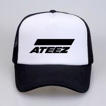 Nueva kpop grupo ATEEZ gorras de béisbol Hongjoong Seonghwa Yunho Yeosang  San Mingi Wooyoung Jongho ATEEZ un adolescente Z sombr. f8d9e502b55