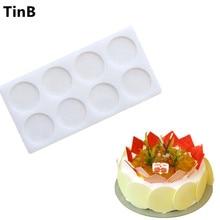 New Round Shaped Silicone Cake Mold Cake Decoration Fondant Chocolate Cake Mold 3D Food Grade Silicone Mold Baking Tools