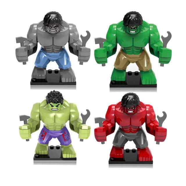 1pc Vingadores Marvel Super Heroes Action Figure Modelo de Brinquedo Conjuntos de Brinquedos Figura Coleção Figura Incrível Hulk Brinquedos Para As Crianças # E