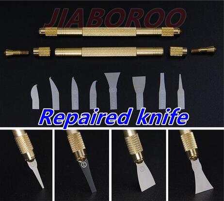 Repaired knife CPU A7 A8 A9 A10 motherboard Burin To Remove Phone Processors knifes For iPhone IC Chip Repair Thin Blade Tools