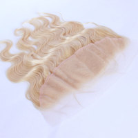 613 Lace Frontal Closure Brazilian Body Wave Human Hair With Baby Hair 13x4 Ear To Ear Human Frontal Prosa Remy Hair