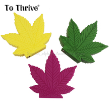 2000mAh Leaf Form Humorous Present PVC Moveable Charger Energy Financial institution For All Cellular Telephone