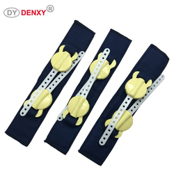 Denxy 5pc Orthodontic Extraoral Anchorage Head Cap with safety module High Pull Headgear Safety Neck Belt Dental Bracket Ortho