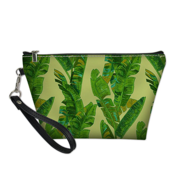 Us 7 97 43 Off Forudesigns Tropical Palm Tree Designer Cosmetic Bag Women Travel Makeup Case Necessaries Multi Function Kids Pencil Bags Small In