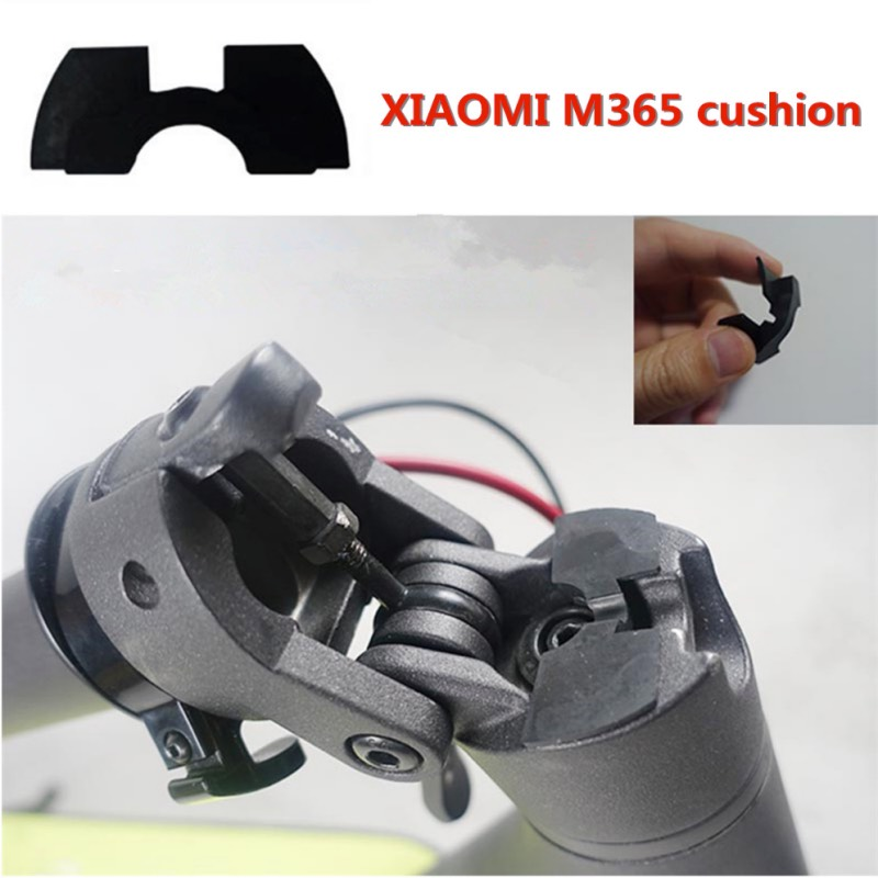 XIAOMI MIJIA M365 Electric Scooter Pole Front Fork Shake Reducers Avoid Damping Rubber Pad Folding Cushion for M365 M187 Bird
