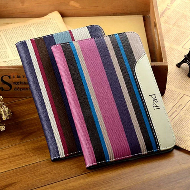 High Quality New Fashion PU Leather Case for iPad Mini Mini 2 Retina Mini 3 Smart Tablet Cover 7.9 Inch Flip Case for iPad Mini