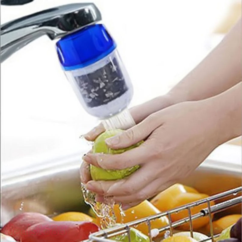 Healthy Coconut Carbon Water Purifier Filter Cleaner Cartridge Home Kitchen Faucet Tap For Kitchen Bathroom Kit Tool Accessories