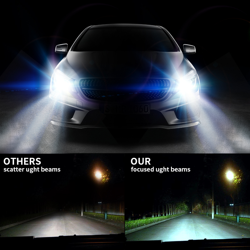 FMS H4 Leds Headlight With Philips Chips 160W H7 H11 Car Led Headlights Bulb 6500K Auto Headl& Fog l& For Toyota/Chevrolet-in Headlight Bulbs from ...  sc 1 st  AliExpress.com & FMS H4 Leds Headlight With Philips Chips 160W H7 H11 Car Led ... azcodes.com
