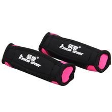 running sandbagged dumbbell small dumbbell sandbag slimming weight loss fitness equipment for wholesale and free shipping