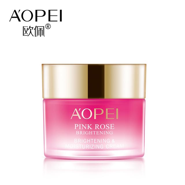 Rose Que Blanquea la Crema Hidratante Anti-arrugas Cuidado de la piel Crema de Día Crema de Fábrica Al Por Mayor Belleza Y Salud Cuidado de La Cara