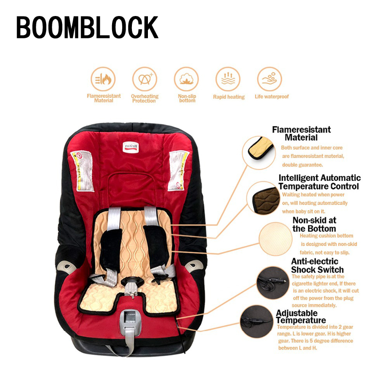 Magnificent Us 18 73 20 Off 12V Auto Winter Baby Seat Heating Cushion Children Car Seat Cover For Vw Polo Jetta Toyota Mercedes Saab Renault Dacia Duster In Machost Co Dining Chair Design Ideas Machostcouk
