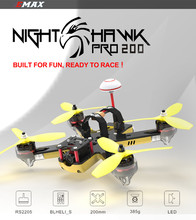 EMAX Nighthawk Pro 200 PNP RC FPV Racer Drone 5.8G Transmitter RS2205 2300KV Motor F3 Flight Control Camera Racing Quadcopter
