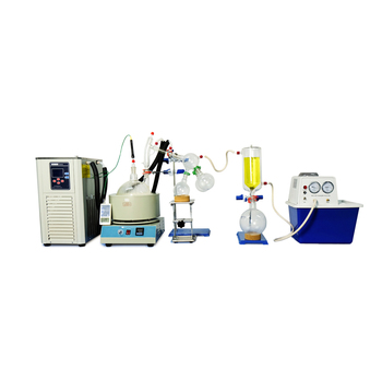 2L Short Path Distillation Standard Set w/Vacuum Pump & Chiller for CBD Oil usa hot scale small short path distillation equipment 5l short path distillation with stirring heating mantle include cold trap