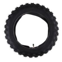 купить Rubber Motorcycle Tyre & Inner Tube Set 2.50-10 Pocket Durable Thick Wheel Motorcycle Tires for Yamaha PW50 PW 50 дешево