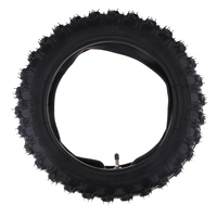 Rubber Motorcycle Tyre & Inner Tube Set 2.50 10 Pocket Durable Thick Wheel Motorcycle Tires for Yamaha PW50 PW 50