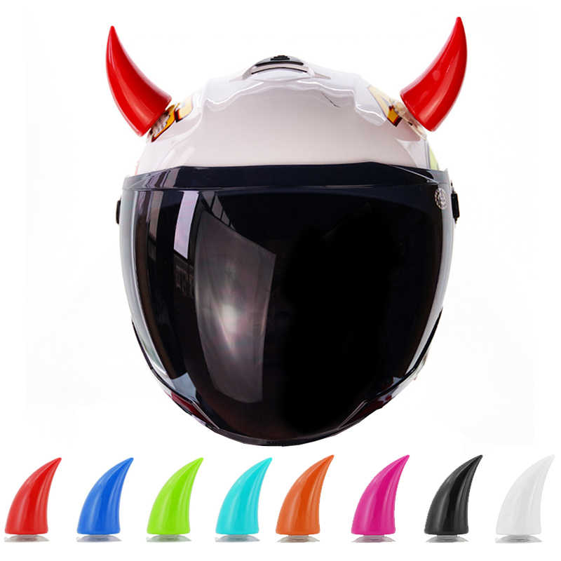 1PCS Motorcycle Helmet Devil Horn Motocross Full Face Off Road Helmet Decoration Helmet accessories Motorcycle Helmet Horns