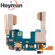 Heyman Flex Cable สำหรับ HTC One Mini M4/M7 Mainboard เมนบอร์ดบน/ปิดปุ่มหลักพร้อมแจ็คหูฟัง