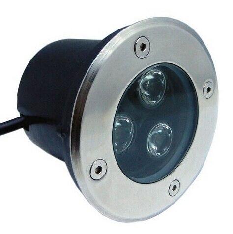 1W/3W/5W/6W/7W/9W/12W/W15W Outdoor Underground Lamp Waterproof LED Spot Floor Garden Yard LED underground light CE&RoHS 85-260V