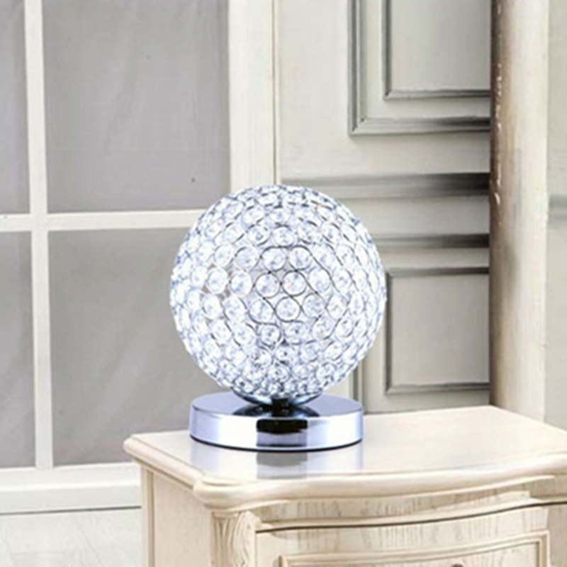 Crystal Table Lamps For Bedroom Reading Room Desk Light Crystal ...